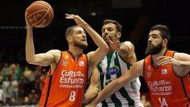 El Valencia Basket sufre ante el Betis Energía Plus para recuperar el liderato