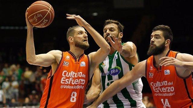 El Valencia Basket sufre ante el Betis para recuperar el liderato