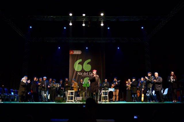 Celebración 'Nit del Drac' en el Born Centre Cultural de Barcelona