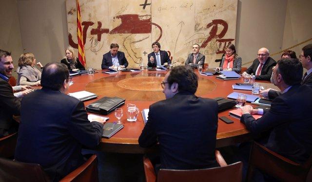 Reunión del Consell Executiu