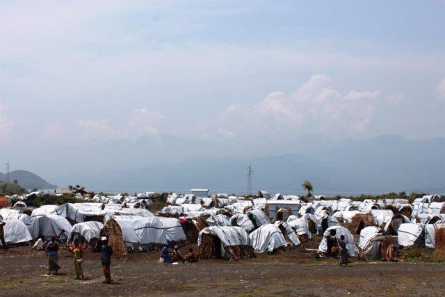 Desplazados en RDC