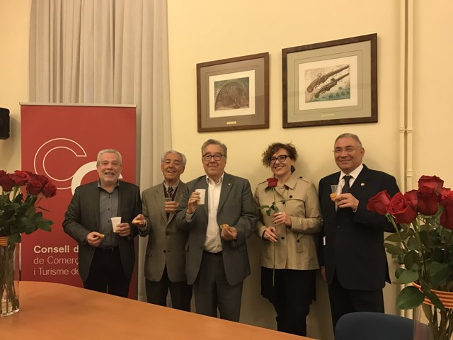 J.Guillén, P.Fàbregas, M.Donnay, M.Ballarín i J.Bertran