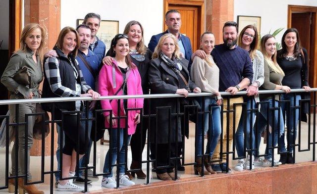 Reunión Ayuntamiento de Santander-peñas para preparar la Semana Grande