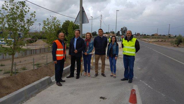 La CARM inicia obras de emergencia en 11 carreteras