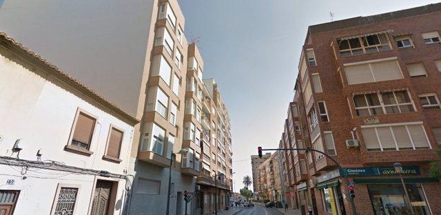 La agresión se ha producido en una vivienda de la avenida Constitución