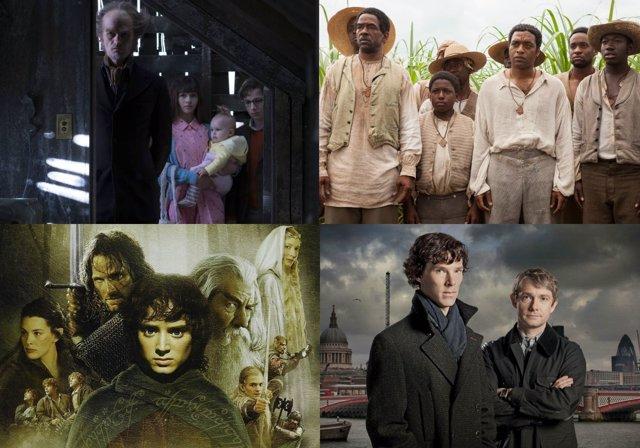 Series y películas basadas en libros