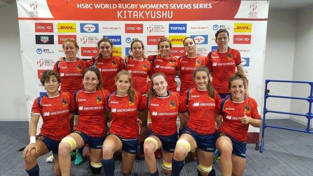 Selección española femenina rugby seven