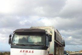 Detenida por robar un camión de mercancías en Fuerteventura
