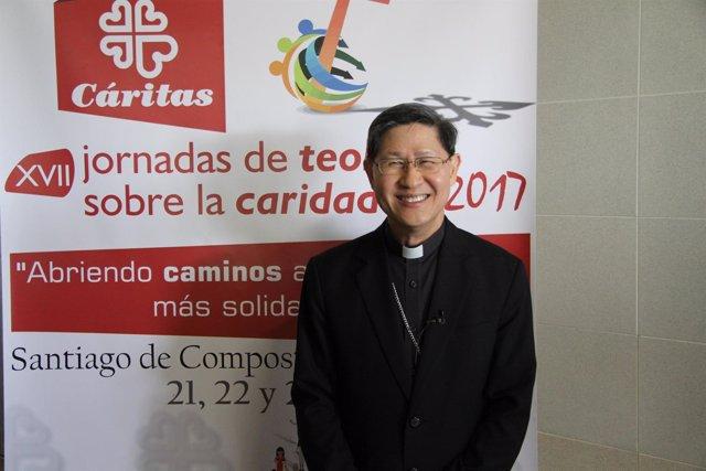 El arzobispo de Manila