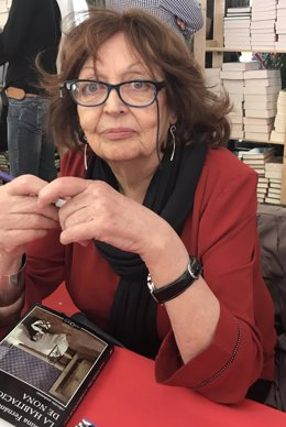 La escritora Cristina Fernández Cubas