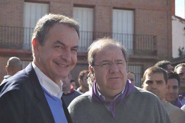 Valladolid. Herrera y Zapatero en el Día de la Comunidad de Castilla y León