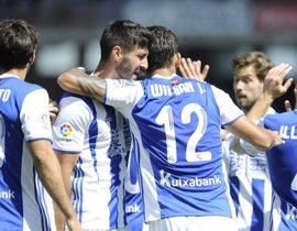 La Real Sociedad se apunta a Europa y mantiene la incertidumbre del Deportivo
