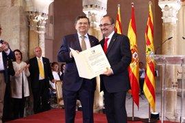 El exrector de la UZ, Manuel López, Premio Aragón 2017, reclama un Pacto por la Educación