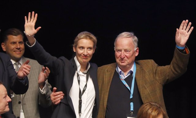 Alice Weidel y Alexander Gauland Alternativa para Alemania