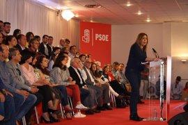 """Susana Díaz pide a los socialistas dejar a un lado """"el morbo"""" de las primarias"""