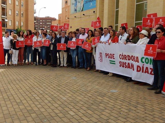 Grupo de apoyo a Susana Díaz en Córdoba