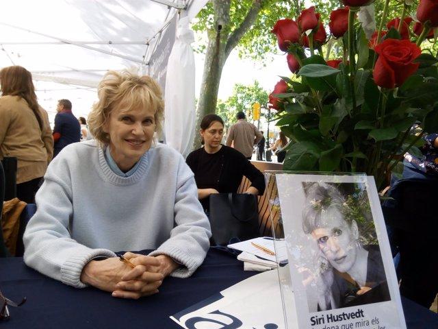 La escritora estadounidense Siri Hustvedt