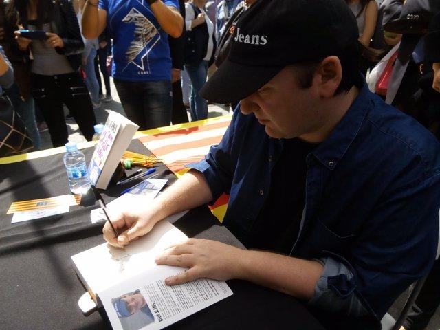 El escritor andaluz Blue Jeans