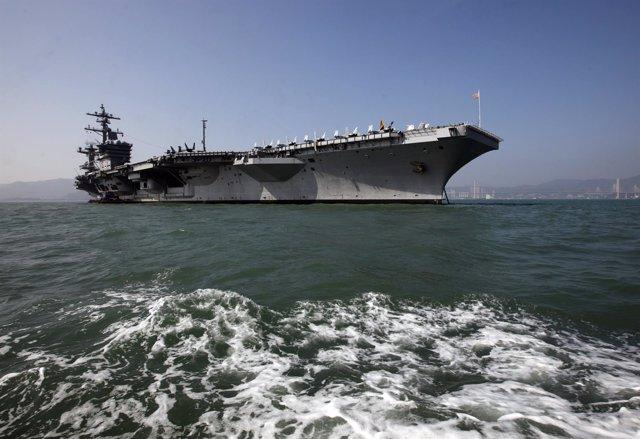 Portaaviones Estadounidense USS Carl Vinson