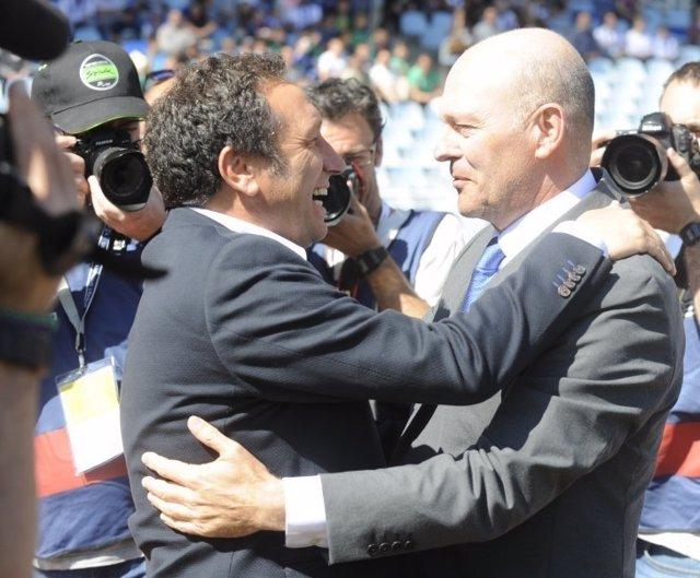Eusebio Sacristán Pepe Mel Real Sociedad Deportivo