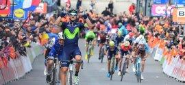 Valverde se hace con su cuarta Lieja-Bastoña-Lieja con tributo a Scarponi