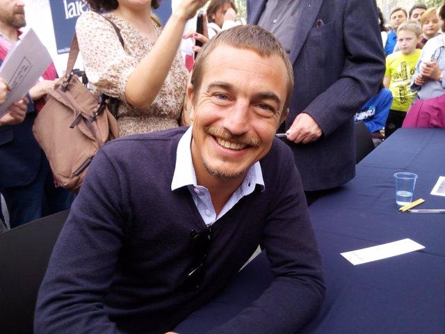 El escritor francés Olivier Bourdeaut
