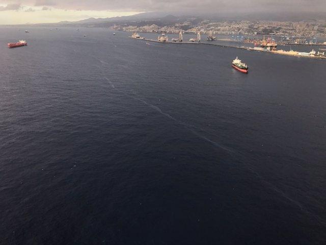 Imágenes del helicóptero del GES