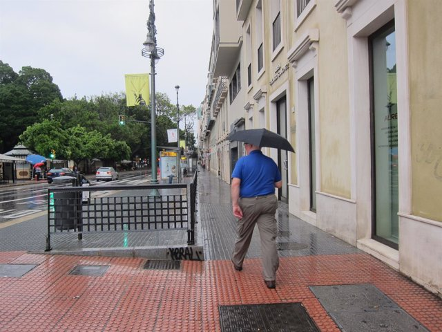 Lluvia, paraguas, llover