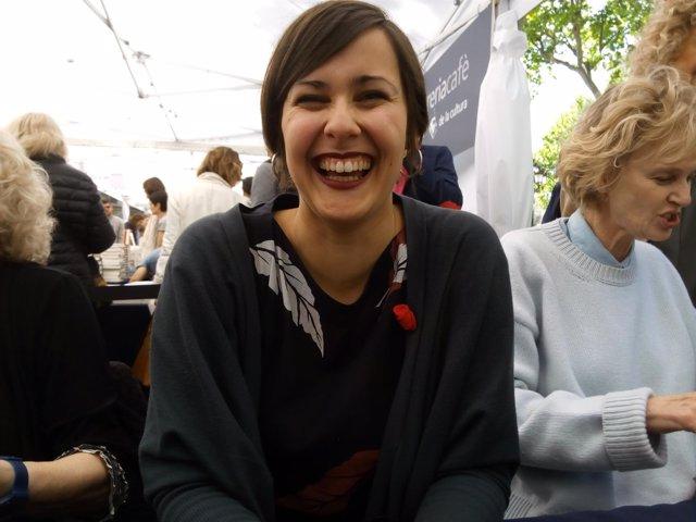 La escritora Jenn Díaz