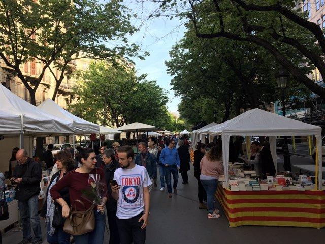 Diada de Sant Jordi de 2017 en Barcelona