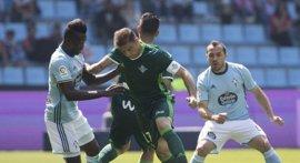 El Betis sella la permanencia virtual e Ibai Gómez quita dos puntos a Las Palmas