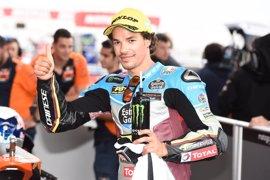 Morbidelli reina en Austin y firma el 'hat-trick' en Moto2