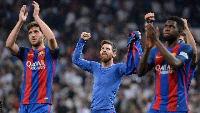 El delantero argentino del FC Barcelona, Leo Messi