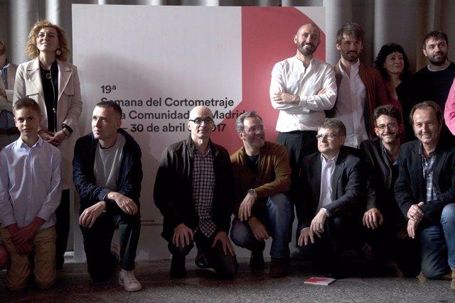 Presentación semana del cortometraje en la Comunidad de Madrid