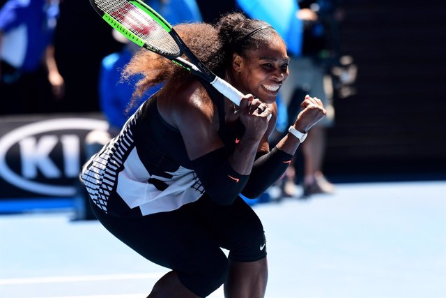 Serena Williams celebra su victoria
