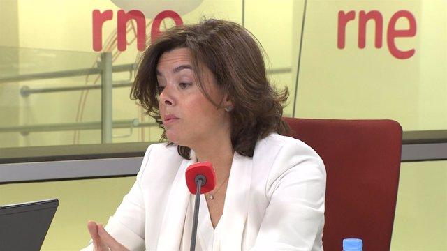 """Santamaría cree que el Gobierno catalán """"no va a ningún lado"""""""