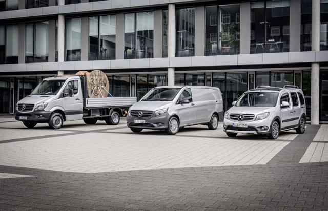 Furgonetas de Mercedes-Benz Vans