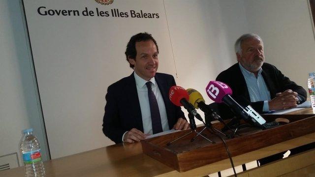 Marc Pons en rueda de prensa
