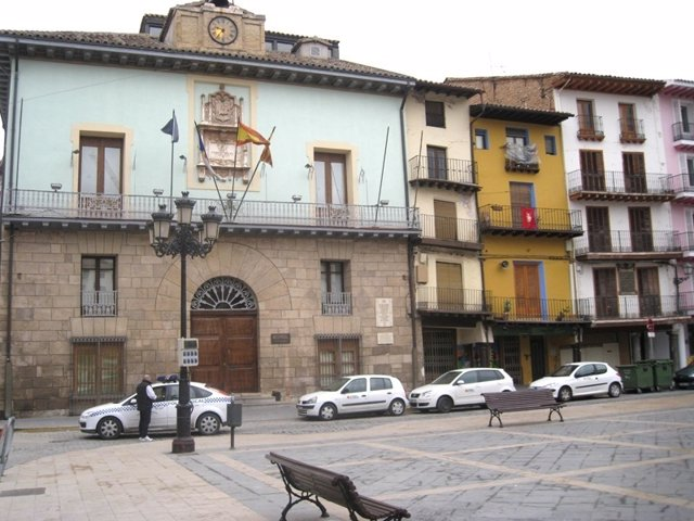 Plaza de España de Calatayud (Zaragoza)