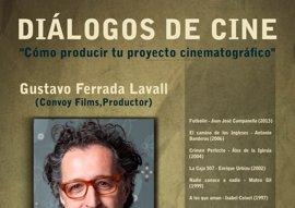 El productor Gustavo Ferrada explica cómo hacer una película en el ciclo 'Diálogos de cine'