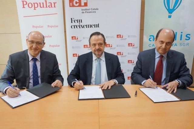 Firma de la ampliación del convenio