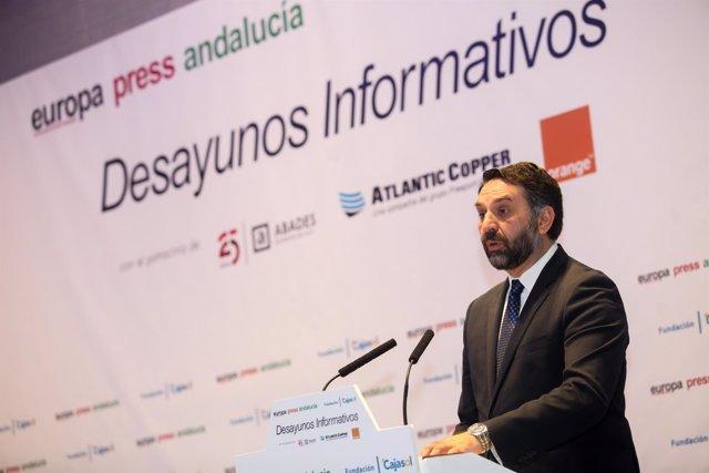 Francisco Javier Fernández, consejero de Turismo de la Junta