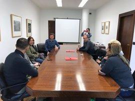 Una delegación de Nicaragua visita el Departamento de Educación del Gobierno foral