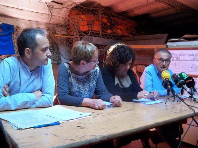 Alexandre Peñalver, Isabel Baixeras, Sonia Ros y Rafa Calderón