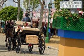 La Feria de Abril comienza con posibilidad de precipitaciones y descenso de temperaturas