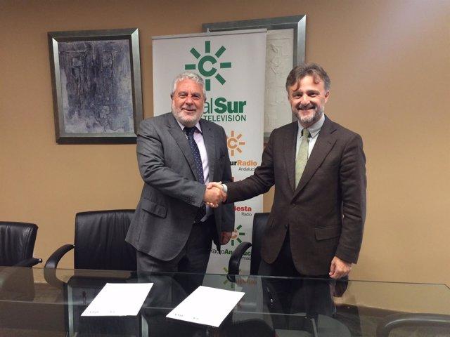 Medio Ambiene y RTVA firman convenio para el Congreso de Cambio Climático