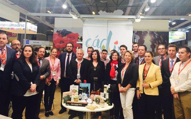 La Diputación de Cádiz participa en el Salón Gourmets en Madrid
