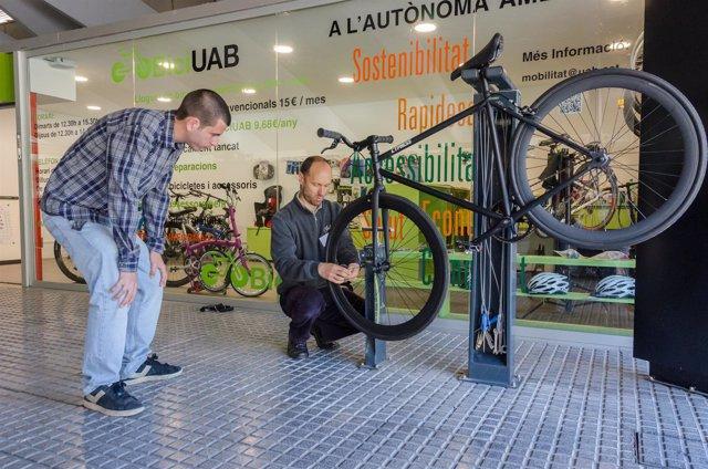 El nuevo servicio BiciUAB