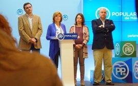 """El PP critica que la Junta """"incumple"""" una veintena de iniciativas aprobadas en el Parlamento para Málaga"""