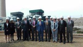 Sánchez Maldonado destaca la inversión de 250 millones de Endesa para adaptar su central térmica en Carboneras